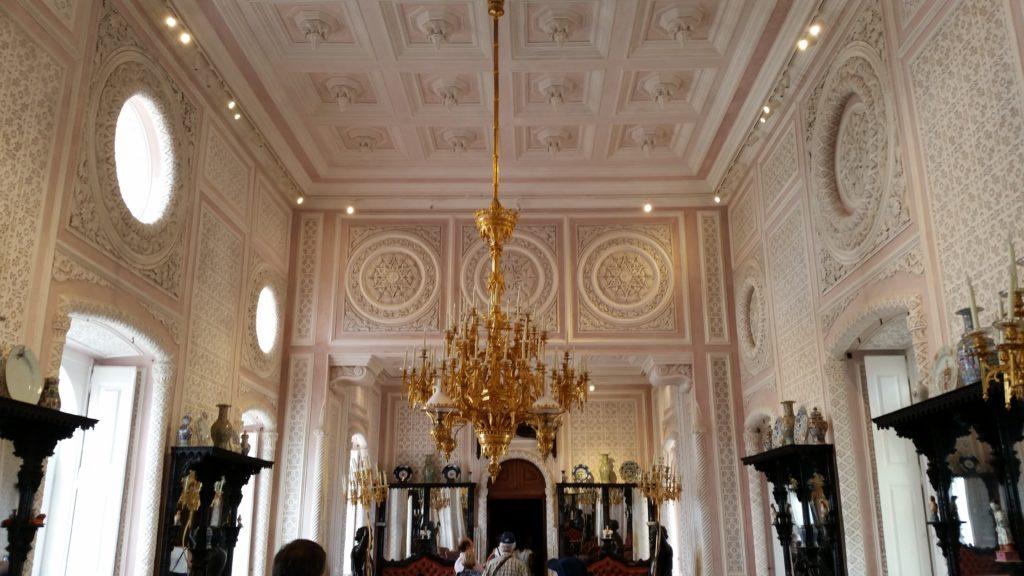 intérieur palais pena