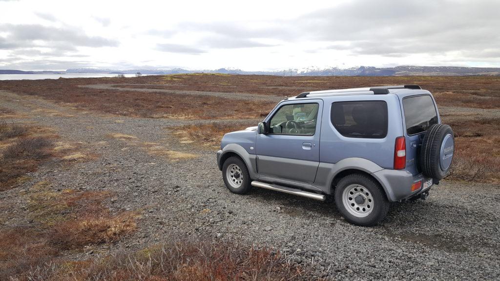 roadtrip en islande - suzuki jimny