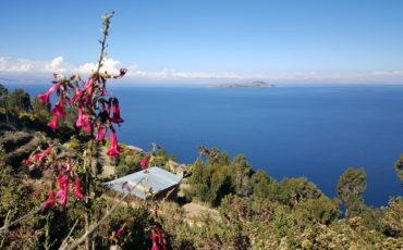 vue lac titicaca