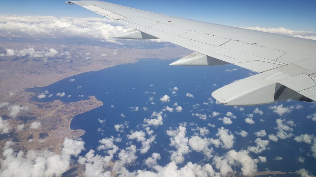 lac titicaca vue du ciel