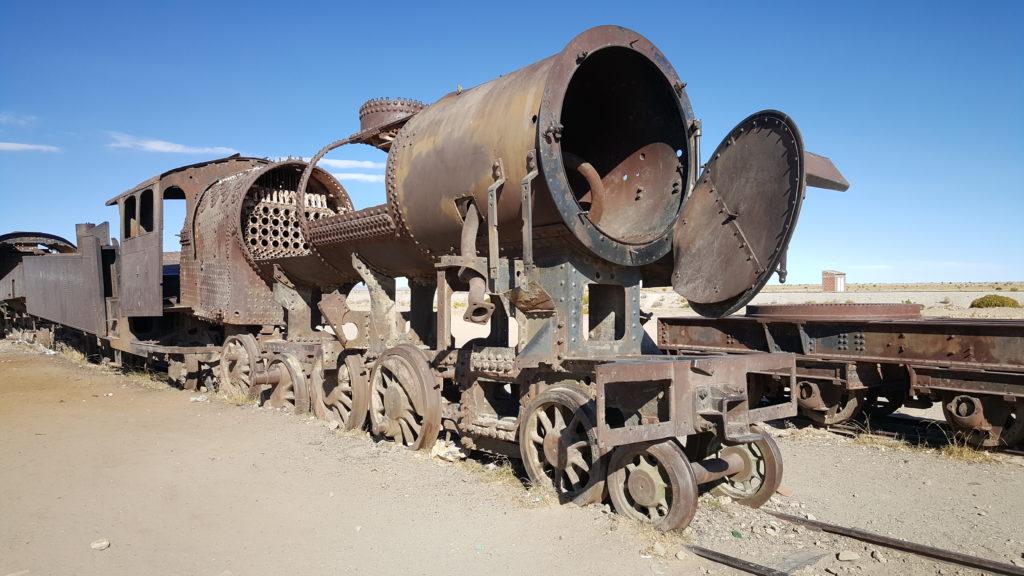 cimetière trains salar uyuni