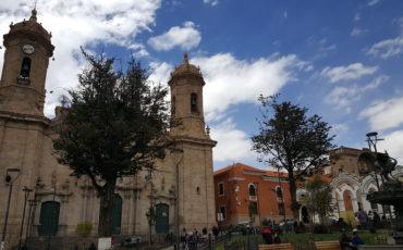 centre ville Mines Potosi Bolivie