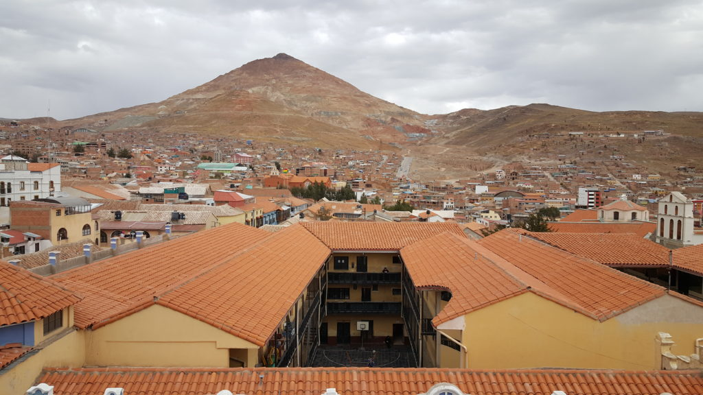 vue Mines Potosi Bolivie