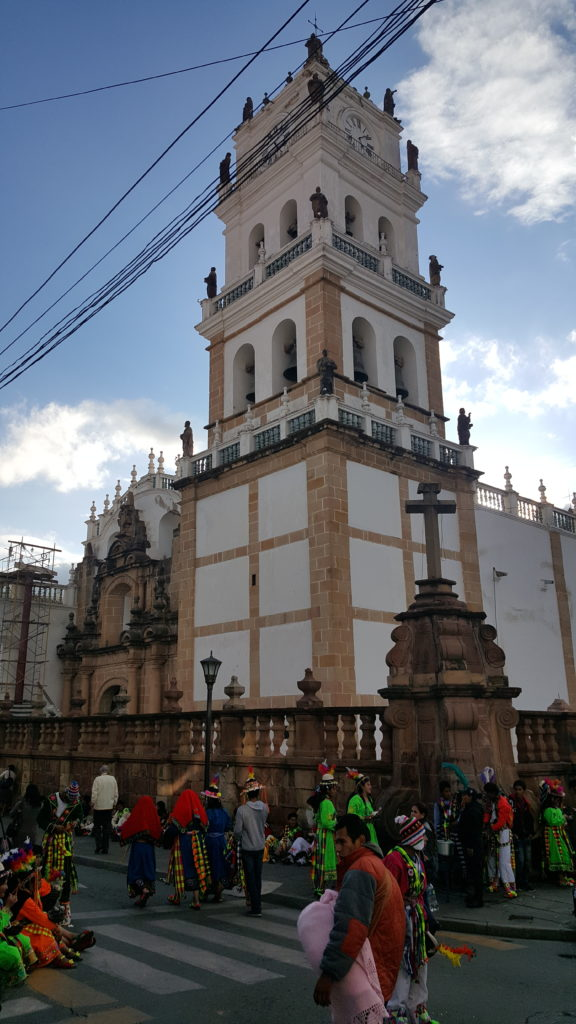 sucre capitale bolivie cathédrale