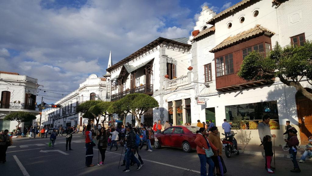 Sucre capitale bolivie