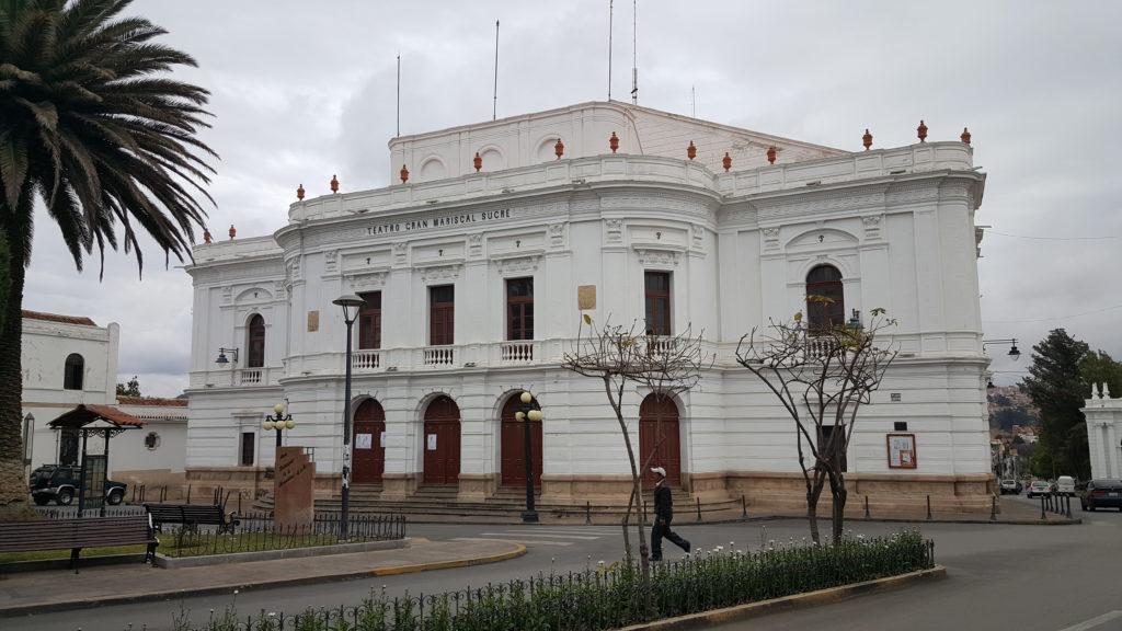 sucre capitale bolivie centre ville