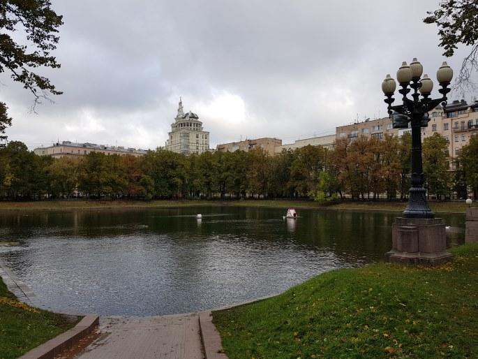 Etang patriarches Moscou