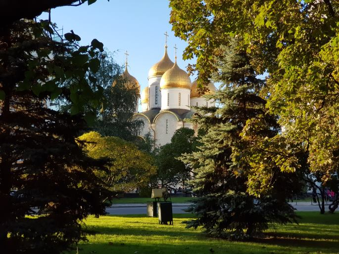 Jardins Kremlin
