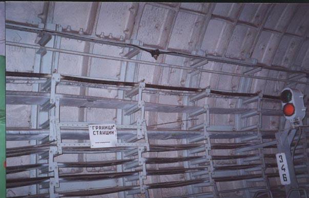 cablage ligne d6 métro 2 moscou