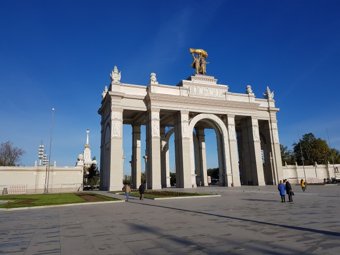 arc de triomphe VDNKh Moscou