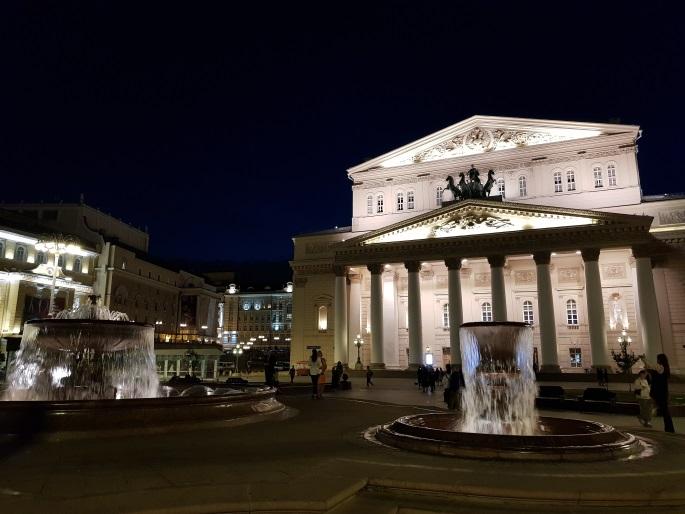 Théâtre Bolchoi monument Moscou