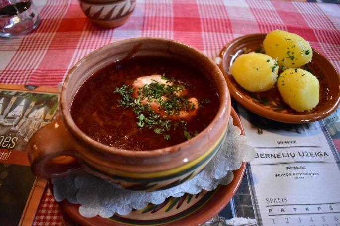 voyage en lituanie cuisine