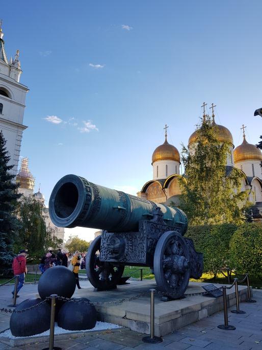 canon tsar pouchka kremlin