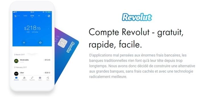Carte Revolut avis