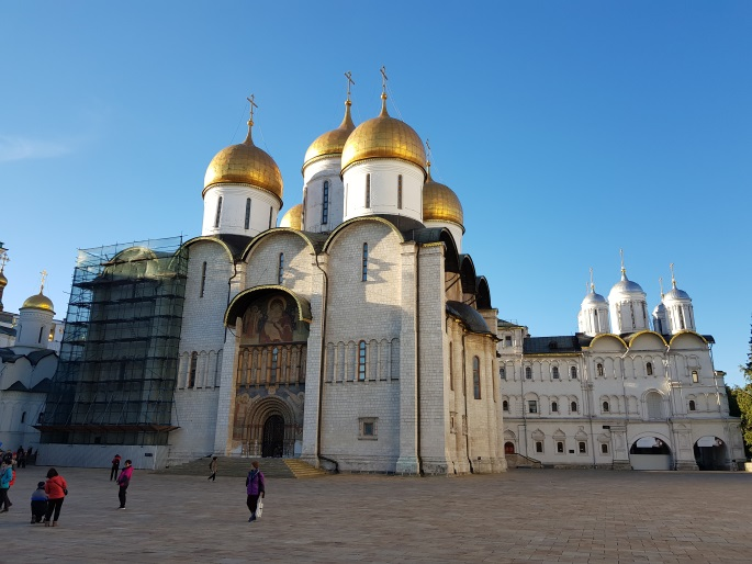 Cathedrale Annonciation Kremlin Moscou