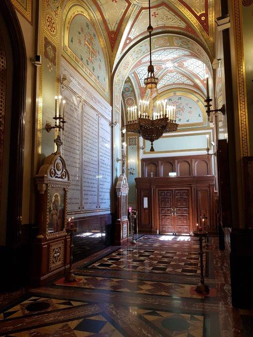 Couloir Cathedrale Christ Sauveur Moscou
