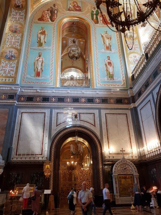 Chapelle Christ Sauveur Moscou