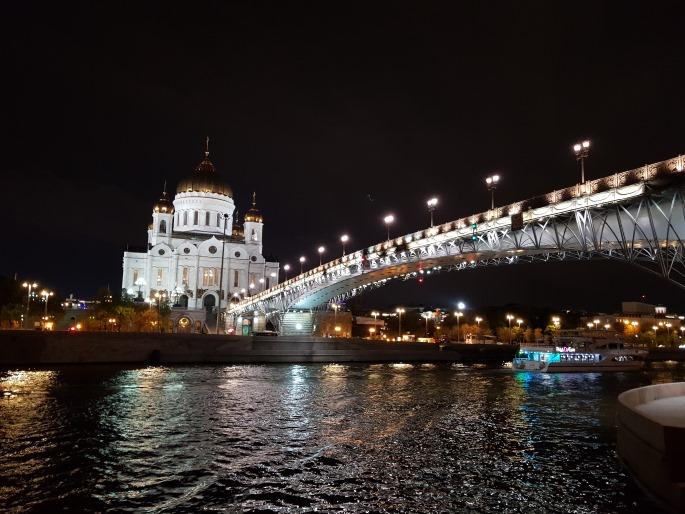 Pont Cathedrale Christ Sauveur Moscou