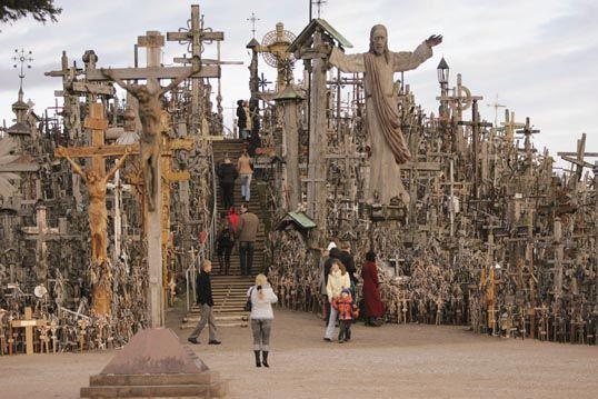 Colline aux croix voyage en Lituanie