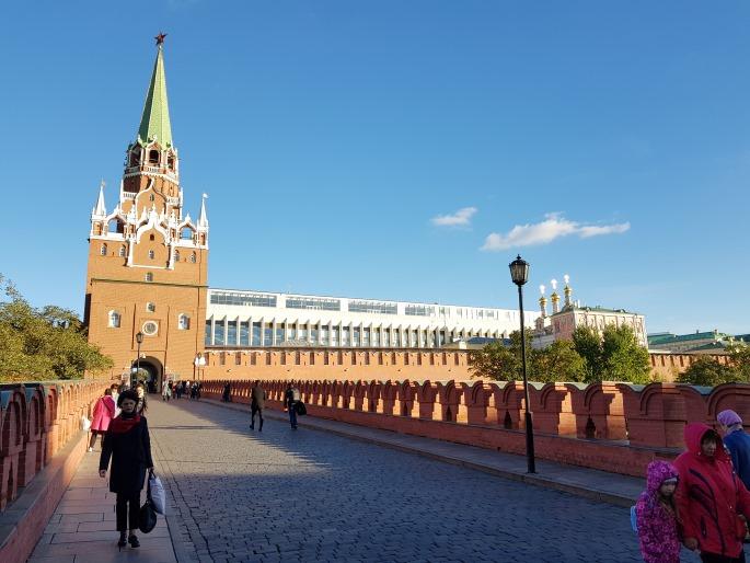 Passerelle entrée Kremlin