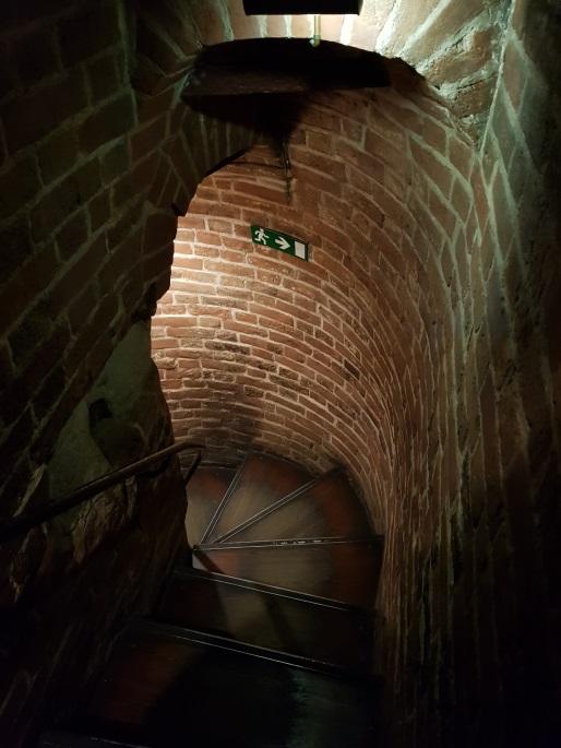 escalier Saint Basile Le Bienheureux