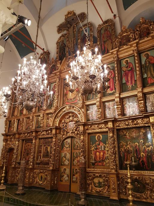 Iconostase Palais des Patriarches