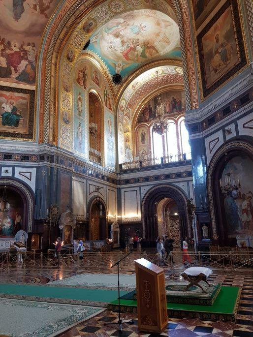 Intérieur Christ Sauveur Moscou