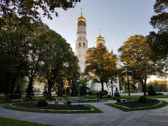 Jardins clocher Ivan le Grand