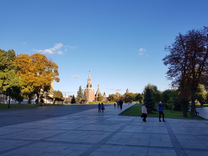 Entrée principale Kremlin Moscou