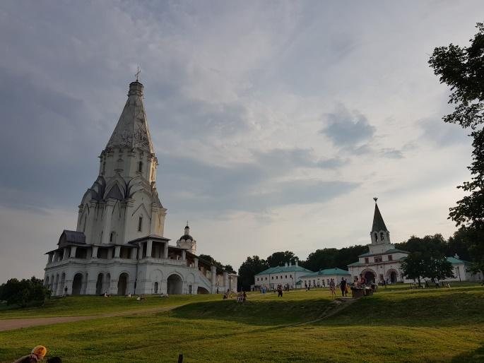 Kolomenskoye monument Moscou