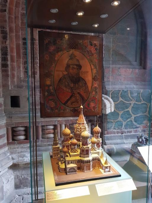 Maquette saint Basile le Bienheureux