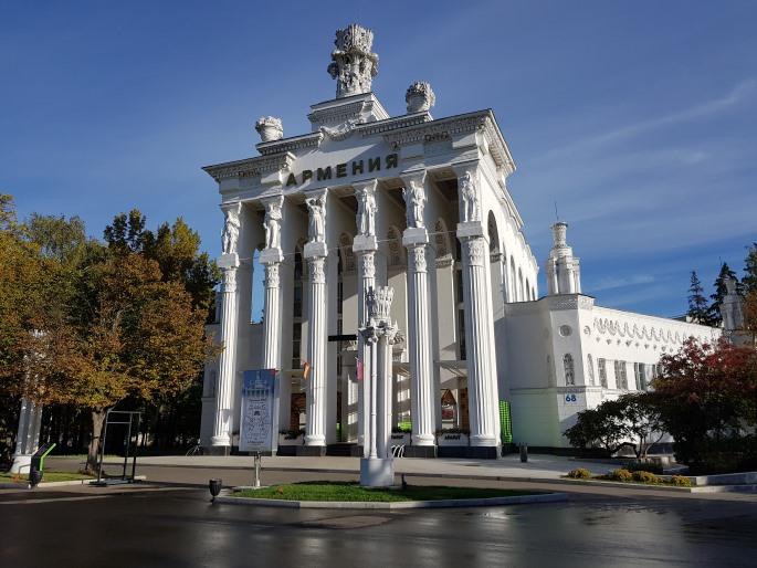pavillon armenie VDNKh Moscou