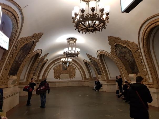 Plateforme Métro Moscou