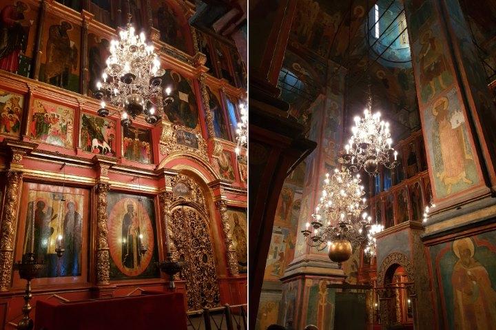 Intérieur Cathédrale Archange Saint Michel