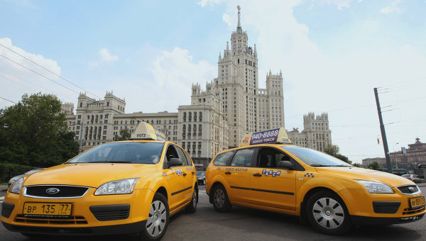 taxis moscou