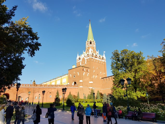 Tour entrée Kremlin Moscou