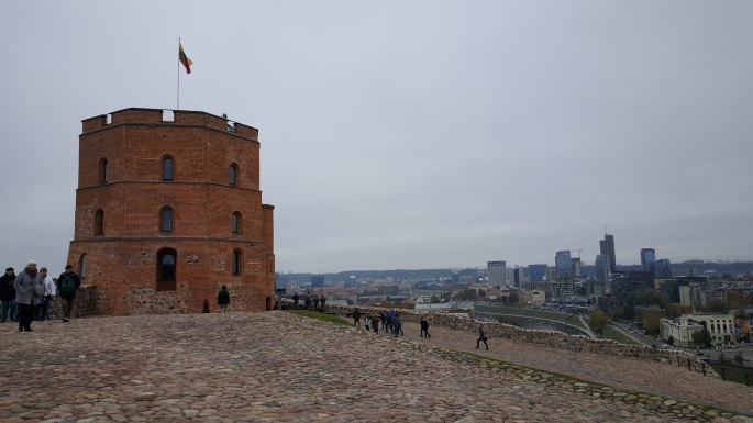 voyage en lituanie tour gédiminas