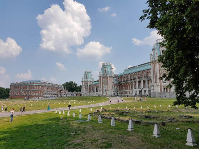 Tsaritsyno monument Moscou
