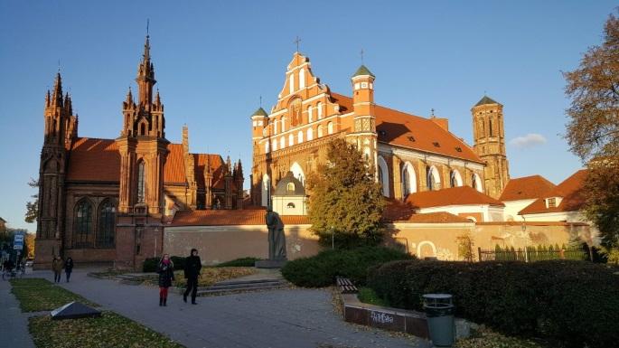 Voyage en Lituanie Vilnius