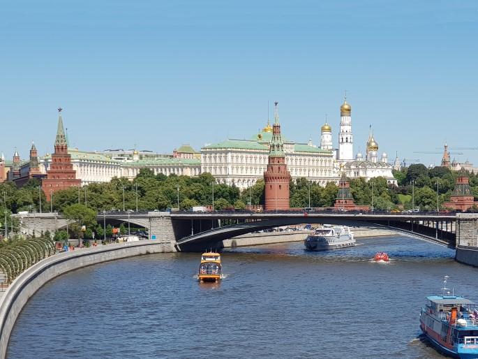 Vue Kremlin Moscou meilleure ville monde