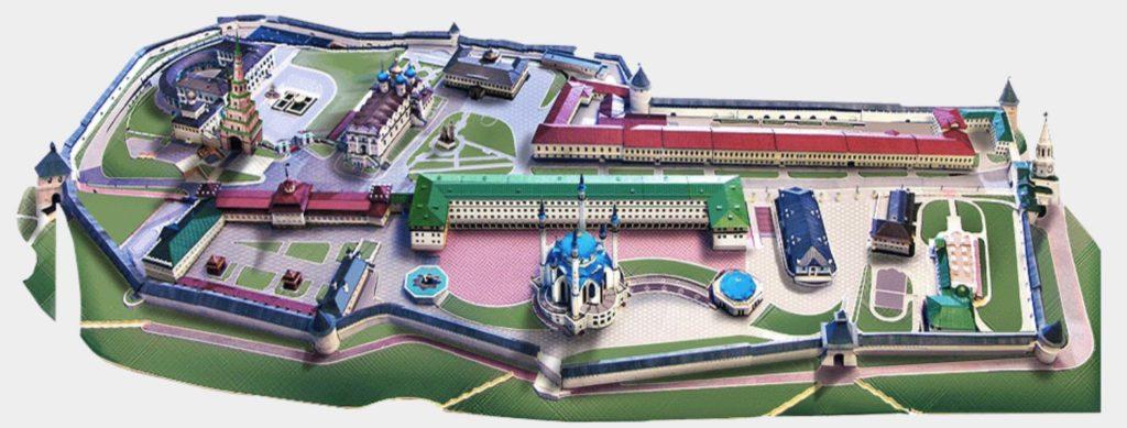 Plan Kremlin Kazan