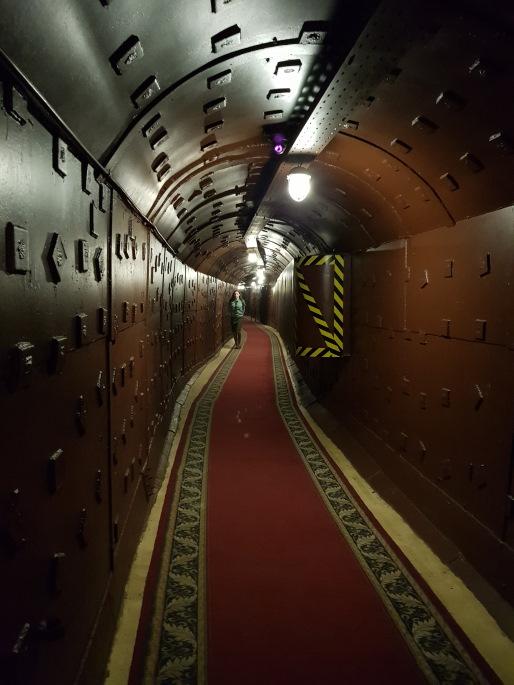 couloir bunker-42 moscou