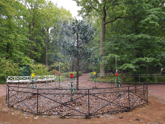 Fontaine arbre Peterhof