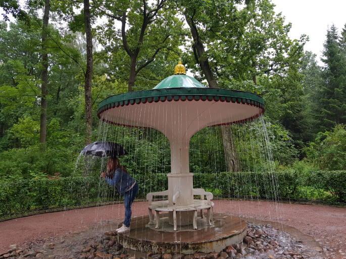 fotaine champignon peterhof