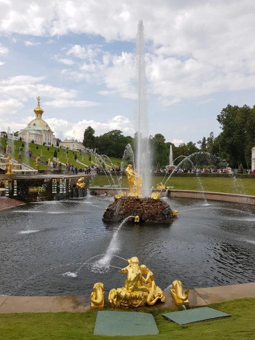 fontaine samson peterhof
