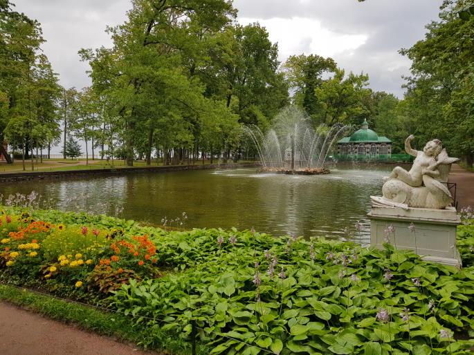 Fontaine soleil palais de peterhof