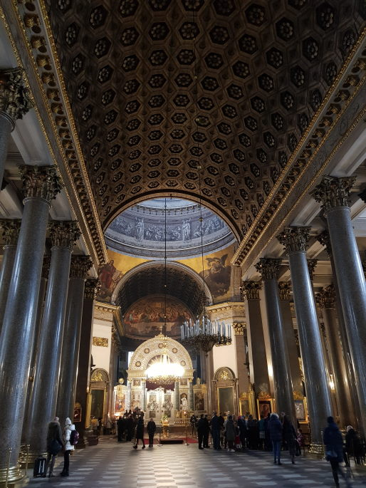intérieur cathédrale notre-dame-de-kazan