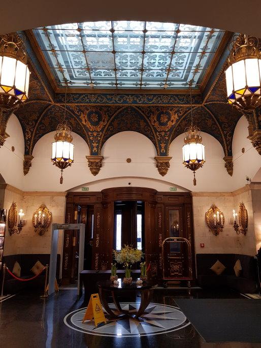 Hotel Léningrad intérieur