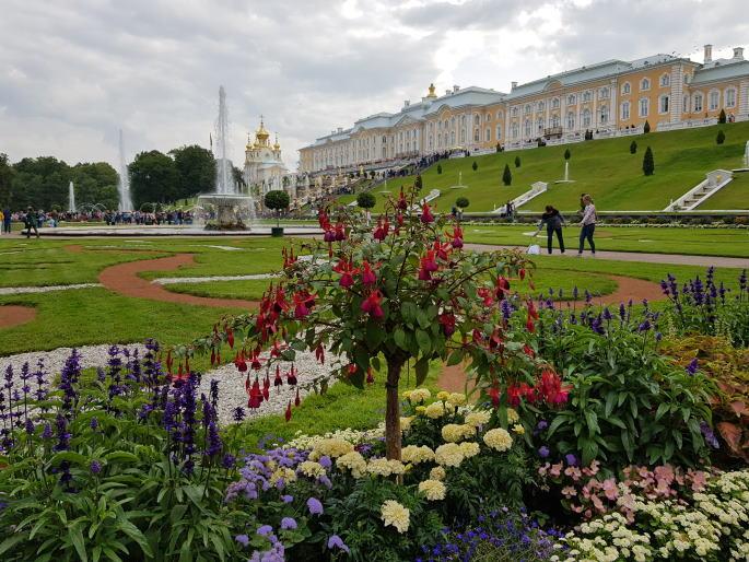 Jardins et palais de peterhof