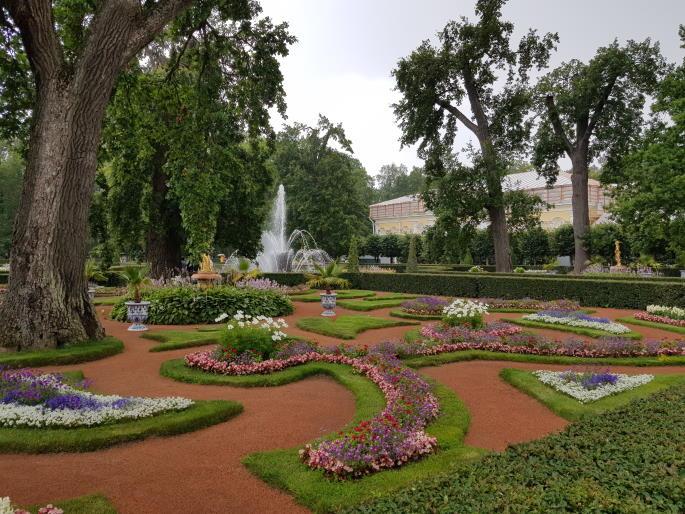 Jardins Montplaisir palais de peterhof